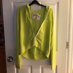 Lime green sweatshirt